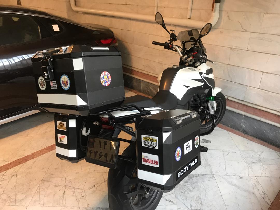 باکس مخصوص موتور سیکلت