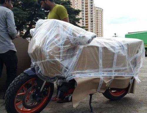 ارسال موتورسیکلت با قطار از بندرعباس به تهران